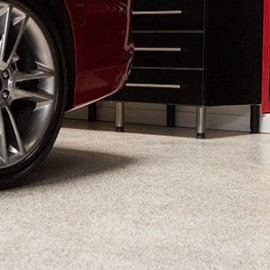 Marina Garage Floor Epoxy