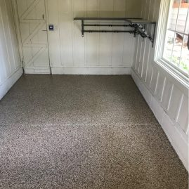 Garage Shed Floor Coating
